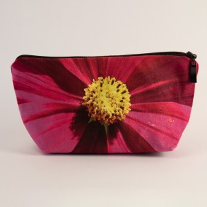 Trousse 3D collection fleurs - Cosmo fuschia