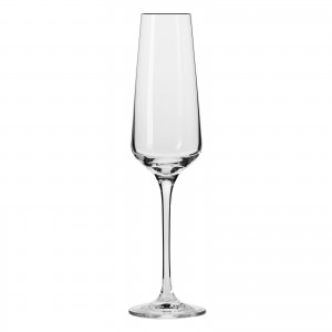 """6 Flûtes à champagne """"AVANT-GARDE"""" 18 cl - cristallin sans plomb"""