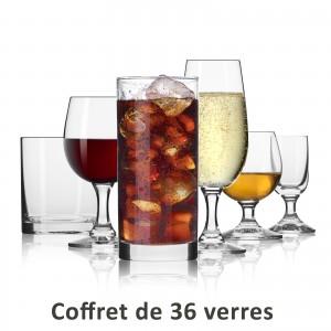 Set de 36 verres à offrir - kit de départ dans la vie active