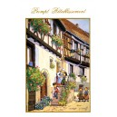 Greeting card Alsace Ratkoff - &quot;Prompt R&eacute;tablissement&quot; - (get well)