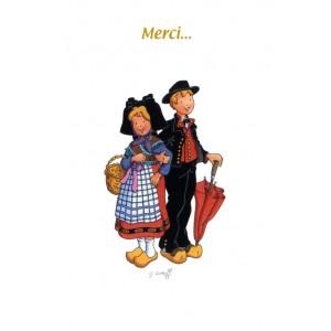 "Carte de voeux Alsace Ratkoff - ""Merci"""