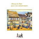 "Greeting card Alsace Ratkoff - ""Amuse-toi pour ton anniversaire"" - (enjoy your birthday)"