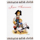Greeting card Alsace Ratkoff - &quot;Joyeux anniversaire&quot; - (happy birthday) - storck