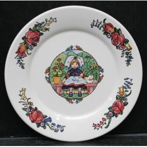 Collection Hansi - Assiette à dessert - Diam 21,5 cm - Lot de 1