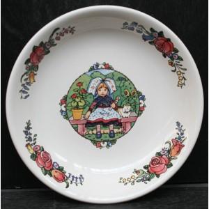 Collection Hansi - Assiette creuse - Diam 21 cm - Lot de 1
