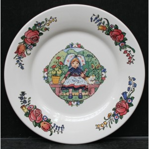 Collection Hansi - Assiette plate - Diam 27 cm - Lot de 1