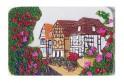 """Magnet décoratif """"Village fleuri"""""""