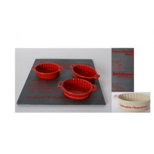 Set ardoise + 4 mini plats
