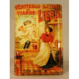 """Plaque vernie """"Liebig"""""""