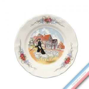 Collection OBERNAI - Assiette dessert - Diam  20,5 cm - Lot de 6