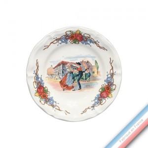 Collection OBERNAI - Assiette pain - Diam  16.5 cm - Lot de 6