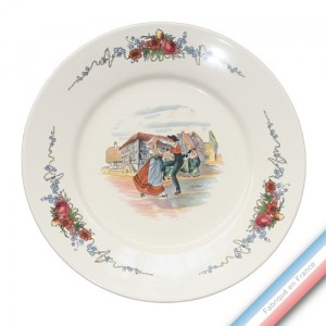 Collection OBERNAI - Assiette présentation - Diam  32 cm - Lot de 1