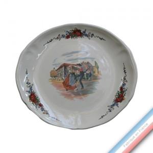 Collection OBERNAI - Assiette ovale - 30 X 28 cm - Lot de 6