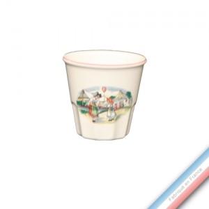 Collection OBERNAI  - Expresso - H 6 cm  - 0,09 L -  Lot de 4