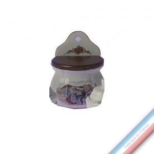 Collection OBERNAI  - Boîte à sel - H 16 cm -  Lot de 1
