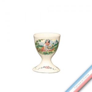 Collection OBERNAI  - Coquetier sur Pied - H 7  cm -  Lot de 4