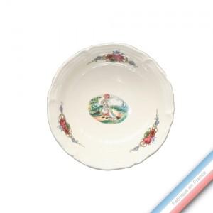 Collection OBERNAI  - Coupelle à Fruits Ronde - Diam  16 cm -  Lot de 1