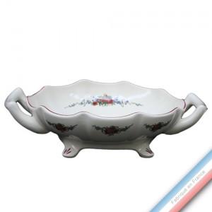 Collection OBERNAI  - Melonnière à Anses Louis XV - Diam  26 cm -  Lot de 1