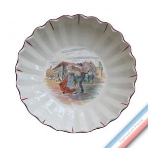 Collection OBERNAI  - Coupe relief - Diam  26 cm -  Lot de 1