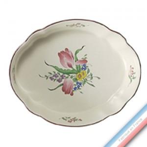 Collection REVERBERE table  - Plat ovale 'Moyen' culinaire - 28,5 x 23 cm -  Lot de 1