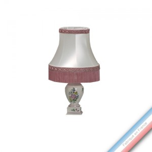 Collection REVERBERE déco  - Lampe chevet louvre - H 42 cm -  Lot de 1