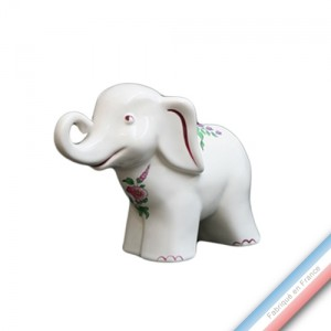 Collection REVERBERE déco  - Eléphant - H 14 cm - L20 cm -  Lot de 1