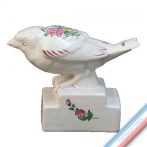 Collection REVERBERE déco  - Oiseau bruant - H 10,5 cm -  Lot de 1