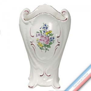 Collection REVERBERE déco  - Vase 'Grand' rocaille - H 28 cm -  Lot de 1