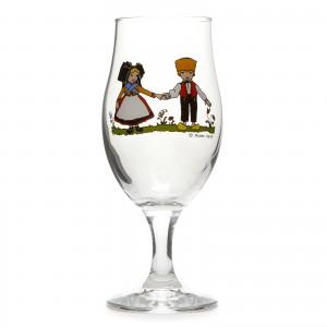 """6 Verres à bière """"Ulla"""" motif HANSI"""