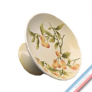 Collection BARBOTINES  - Compotier cerise mirabelle - Diam  25 cm -  Lot de 1
