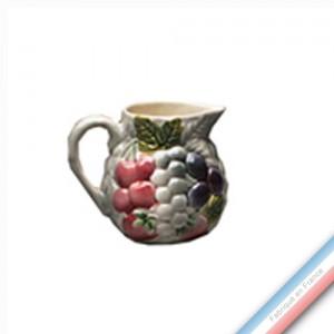 Collection BARBOTINES  - Cruche 5 fresa - 0,25 L -  Lot de 1