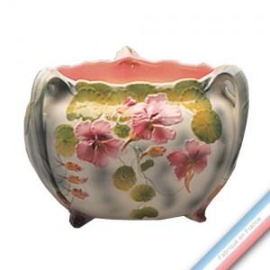 Collection BARBOTINES  - Cache pot capucines 'Grand' - H 19 cm -  Lot de 1