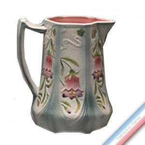 Collection BARBOTINES  - Pichet fleurs clochettes - 1,76 L -  Lot de 1