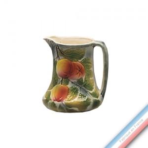 Collection BARBOTINES  - Pichet pommes - H 18 cm - 1,20 L  -  Lot de 1