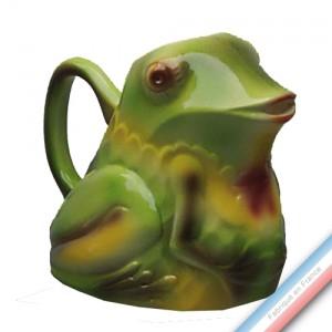 Collection BARBOTINES  - Pichet grenouille - H 18 cm - 1,5 L -  Lot de 1