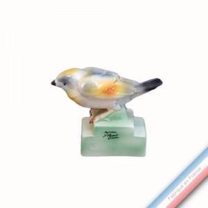 Collection BARBOTINES  - Oiseau bruant - H 10,5 cm -  Lot de 1
