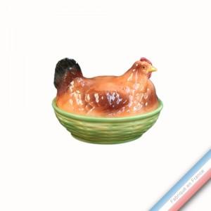 Collection BARBOTINES  - Panier poule - H 21 x L 25 cm -  Lot de 1