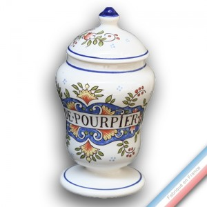 Collection - Pot à pharmacie 'Grand' Louis XV Pourpier - H 21 cm -  Lot de 1