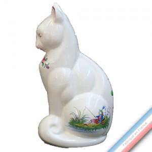 Collection CHINOIS - Chat 'Moyen' - H 22 cm x 11 cm -  Lot de 1