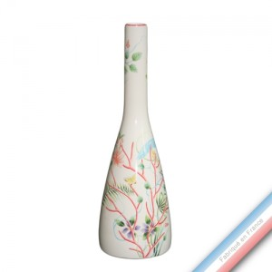 Collection FLEUR DE CORAIL - Vase bouteille 'Grand' - H 40 cm -  Lot de 1