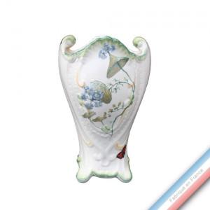 Collection FOLIES BOTANIQUES - Vase 'Grand' rocaille - H 28 cm -  Lot de 1