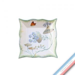 Collection FOLIES BOTANIQUES - Vide poche carre - 12 x 12 cm -  Lot de 1