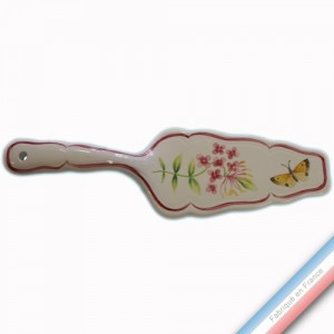 Collection VENT DE FLEURS - Pelle à Tarte - L 24 cm -  Lot de 1