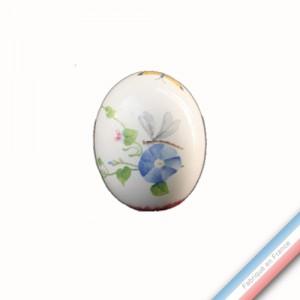 Collection VENT DE FLEURS - Oeuf 'Moyen' - H 9,5 cm -  Lot de 1