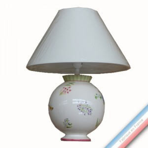 Collection VENT DE FLEURS - Lampe boule - H 50 cm -  Lot de 1