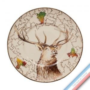 Collection CHAMBORD - Assiette plate - Diam  27,5 cm -  Lot de 4