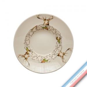 Collection CHAMBORD - Assiette creuse - Diam  22,5 cm -  Lot de 4