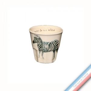Collection POINT DE VUE ECLAIRE - Expresso - H 6 cm  - 0,09 L -  Lot de 4
