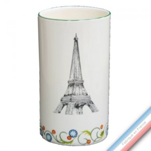 Collection PARIS - Vase cylindre 'Petit' - H 18,5 cm -  Lot de 1
