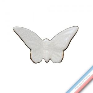 Collection IRRESISTIBLES - Petit Papillon Ivoire - H 10 - L 12 cm -  Lot de 1